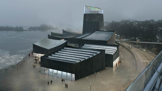 El concurso para diseñar el nuevo Guggenheim de HelsinkI lo ganó el estudio francés Moreau Kusunoki