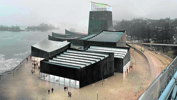 El llamativo proyecto para el museo Guggenheim Helsinki