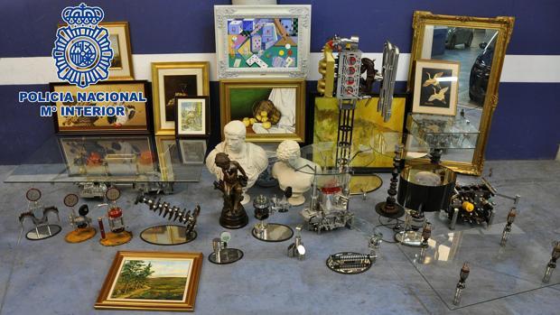 Las obras de «arte industrial» de Elías Cuadrado, valoradas en 1,2 millones de euros