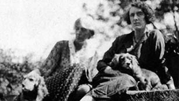 Virginia Woolf y Vita Sackville-West