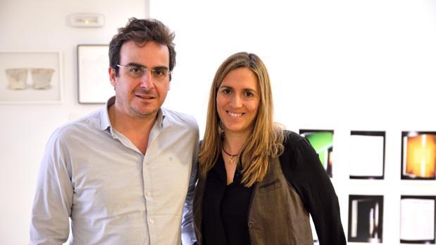 Julio Criado y Carolina Barrios son los responsables de la galería Alarcón Criado