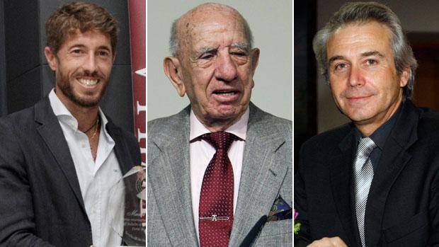 Manuel Escribano, Victorino Martín y André Viard