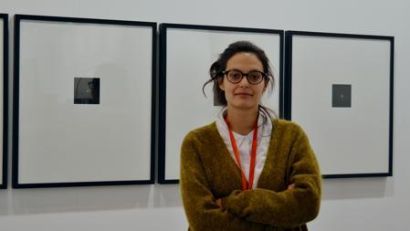 Larisa Zmud, de la galería Slymud, presente en ARCO