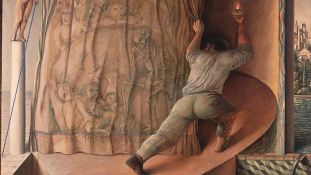 «El rumor del tiempo» (1984), de Pérez Villalta