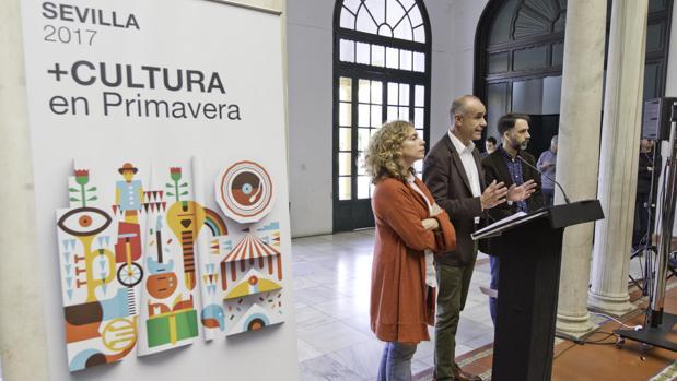 Acto de presentación del programa cultural para esta primavera en Sevilla
