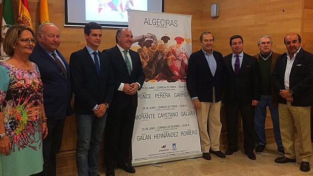 Ponce, Morante, Cayetano, Perera, Garrido, Galván, en la Feria de Algeciras 2017