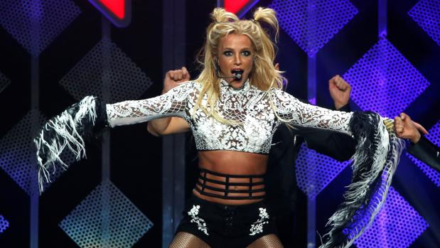 Britney Spears, en un concierto reciente