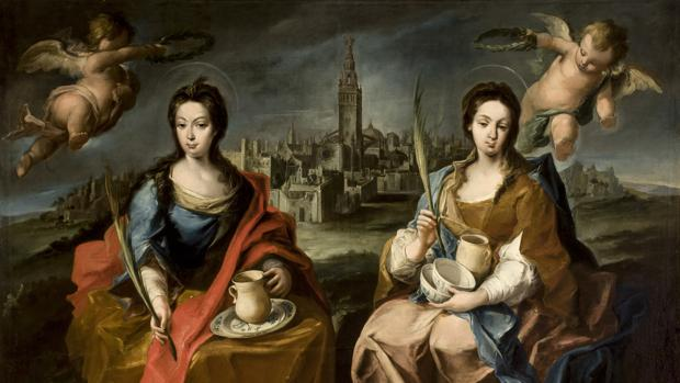 «Las santas patronas Justa y Rufina», de Juan de Espinal