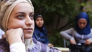 Salwah Mekrsh, de 18 años, fue tiroteada en Alepo