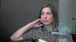 Sarah Glidden, durante su reciente visita a Madrid para firmar en la Feria del Libro