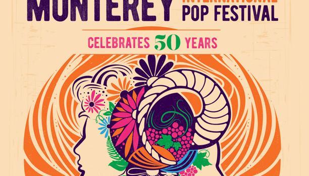Entrada del aniversario del Festival de Monterey