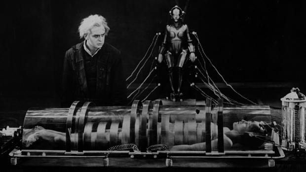 Escena de «Metrópolis», de Fritz Lang