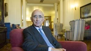 José María Ballester, en el Palacio de la Magdalena en Santander
