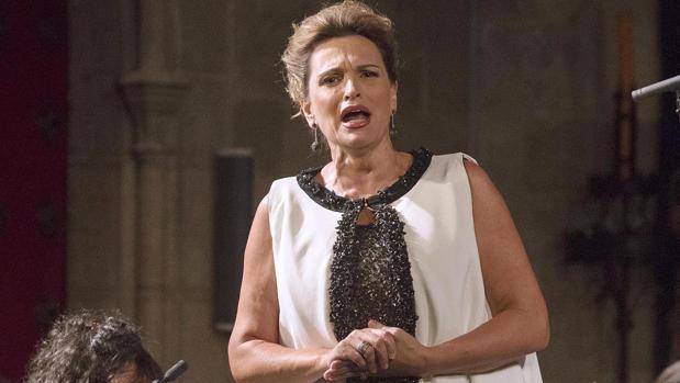 La soprano Ainhoa Arteta
