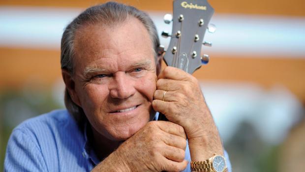El cantante de country Glen Campbell, en 2008