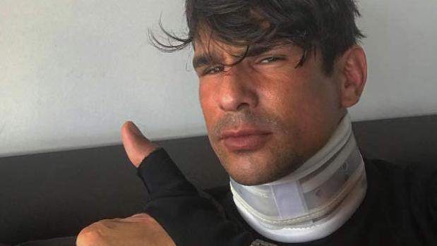 El torero José María Manzanares tras su operación