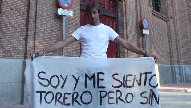 El novillero sevillano Javier Velázquez ha pasado casi 40 horas de huelga de hambre en Las Ventas