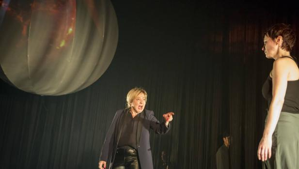 Carmen Machi interpreta a Creonte en este montaje de «Antígona»
