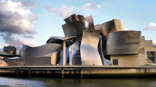 Vista del exterior del Museo Guggenheim Bilbao