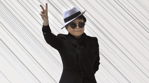 Yoko Ono también pasó por el Guggenheim de Bilbao con una exposición