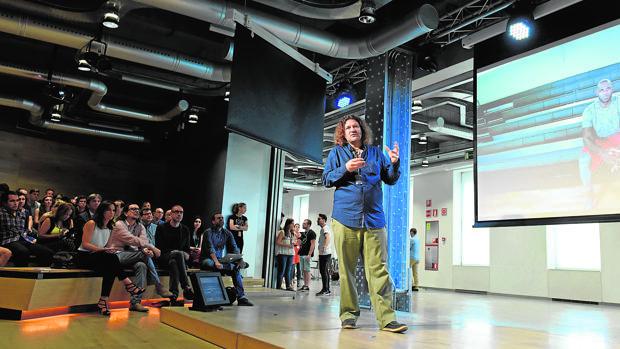 Sebastián Sylwan, en la Fundación Telefónica