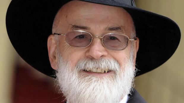 El escritor briitánico Terry Pratchett