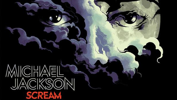 Portada del disco «Scream», de Michael Jackson