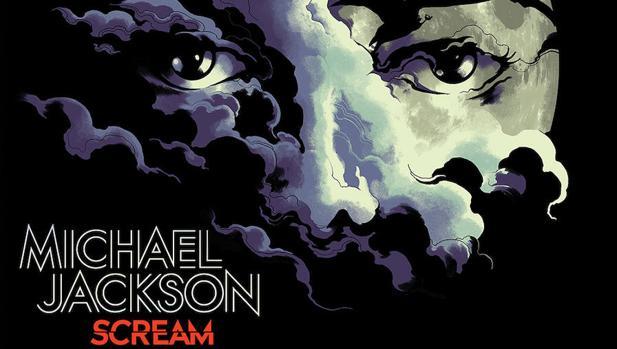 Portada del disco «Scream», de Michael Jackson