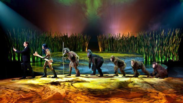 Una escena de «Totem», el nuevo espectáculo del Circo del Sol
