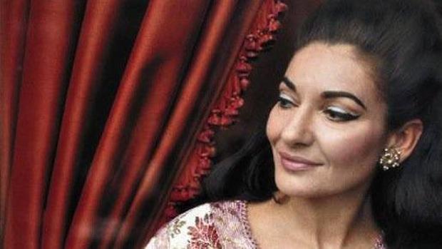 La mítica soprano Maria Callas