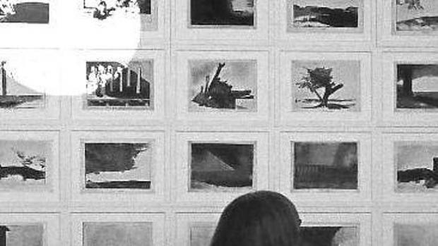 Detalle de la instalación de Lashai en el Museo del Prado inspirada en los grabados de Goya