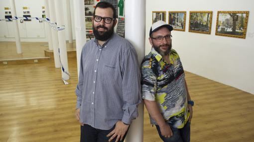 Sergio Bang y Goyo Villasevil en el espacio de Swinton & Grant