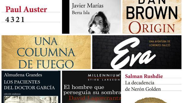 Los libros más recomendados para leer en otoño de 2017.