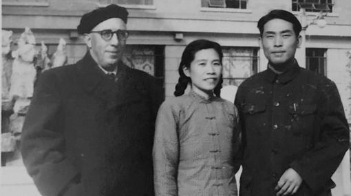 Arconada y su traductora china