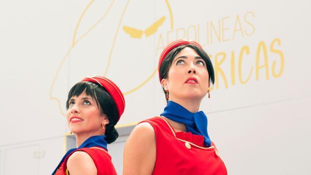 Carolina Montoya y Sonia Astacio estrenan «Aerolíneas Ibéricas»