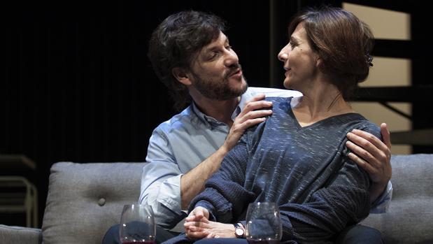 Daniel Grao y Malena Alterio, en una escena de la obra