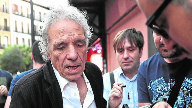 Abel Ferrara, a su llegada a la inauguración de la retrospectiva que le dedica la Filmoteca Española