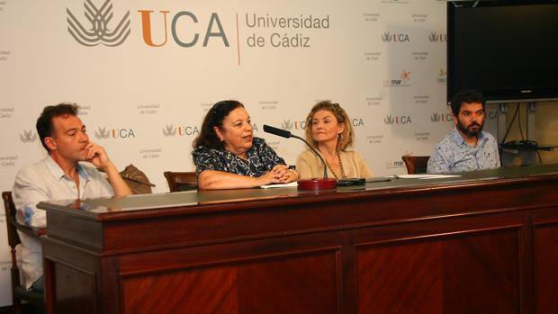 Momento de la presentación del evento.