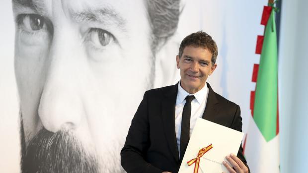 Antonio Banderas agradece el Premio Nacional de Cinematografía en reconocimiento a su carrera