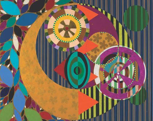 «Maracujola». 2015. Acrílico. 246 x 299 cm