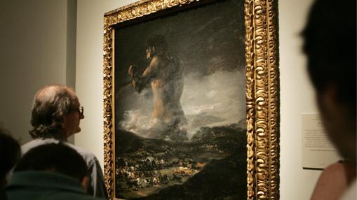 El marco con el que llegó al Prado en 1931 lo ha lucido hasta 2015