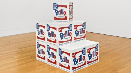 Las archiconocidas cajas Brillo de Warhol