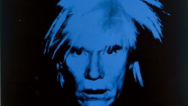 Autorretrato de Andy Warhol