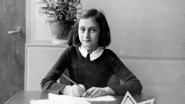 Ana Frank, retratada en el instituto donde estudiaba