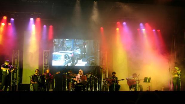 La banda Brath durante una actuación en directo