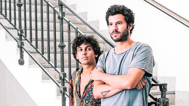 Antón Carreño y Willy Bárcenas, el núcleo duro de Taburete