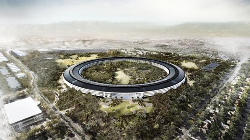 Proyecto para la nueva sede de Apple en Cupertino