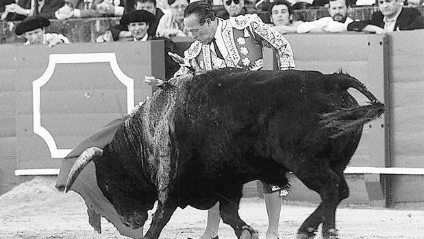 Curro Romero en la corrida del 12 de octubre de 1997