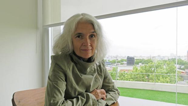 Belén Gopegui, autora de «Quédate este día y esta noche conmigo»