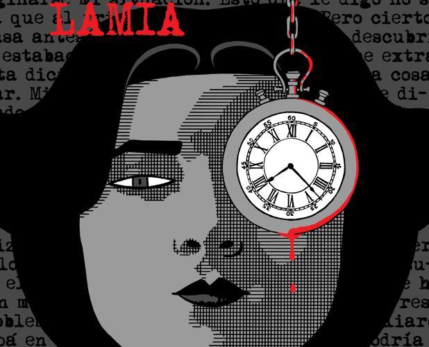 Portada de «Lamia», de Rayco Pulido